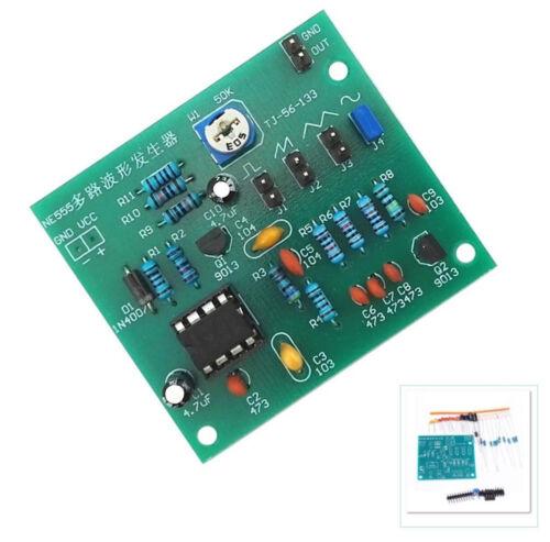 NE555 Multi-Channel Waveform Generator Module Sine Triangle Square Wave DIY ATF