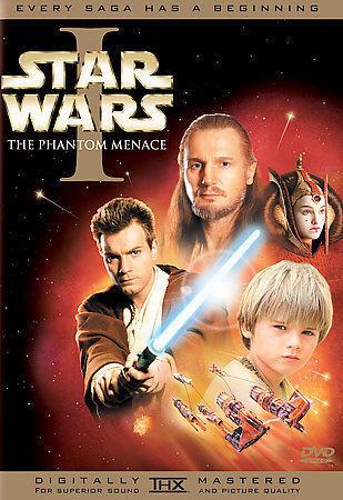 Star Wars Episode I The Phantom Menace DVD, 2005, 2-Disc Set, Widescreen... - $2.99