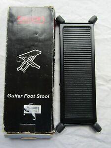 Guitare Dixon Pied Réglable Tabouret Boîte/new Old Stock-afficher Le Titre D'origine DernièRe Technologie