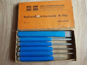 DDR Splinttreibersatz 6-teilig - Jena, Deutschland - DDR Splinttreibersatz 6-teilig - Jena, Deutschland