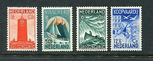 Nederland-nvph-257-260-postfris