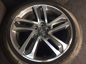 NEW GENUINE ACURA MDX INCH WHEELS TIRES RIMS NEWEST SET ON - Acura mdx wheels