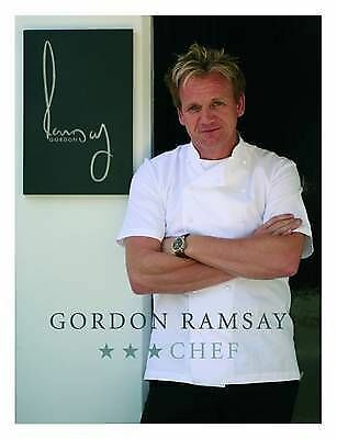 """AS NEW""  CHEF, Ramsay, Gordon, Book"