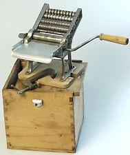 PRL) 1930 MACCHINA PASTA BALILLA RAJON FOOD MACHINERY VINTAGE NO IMPERIA + BOX