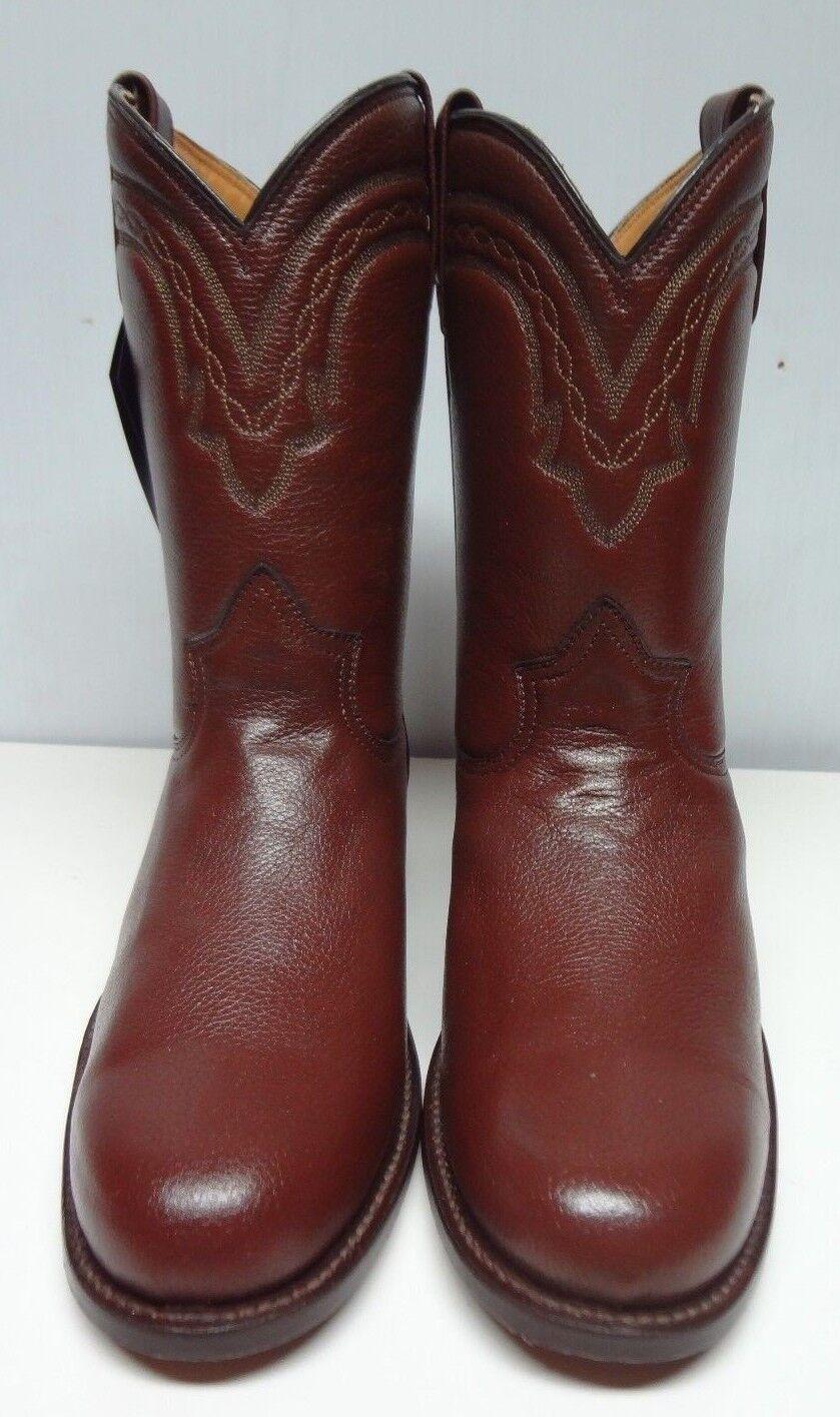 Men's Roper botas De Vaquero genuino Venado Western C211