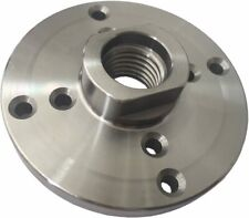 Steel Face Plate 1 8 Tpi Mounting Threaded 4 Diameter For Wood Lathe Turning