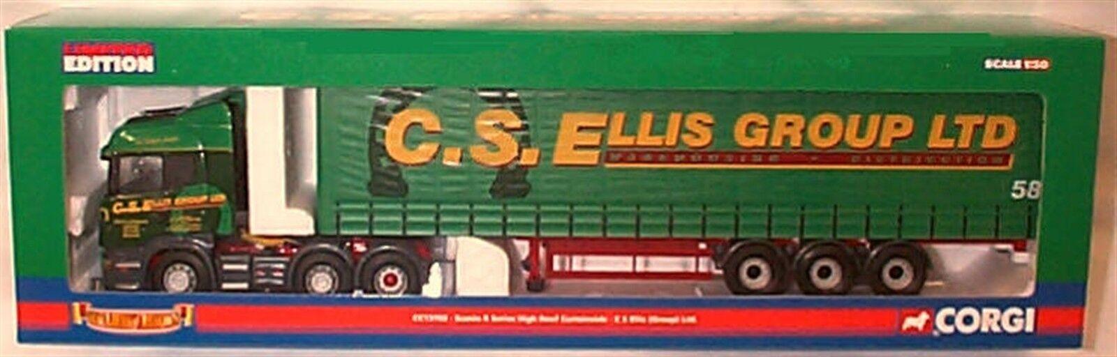 Scania R Series High Roof Curtainside C S Ellis ltd ed CC13703