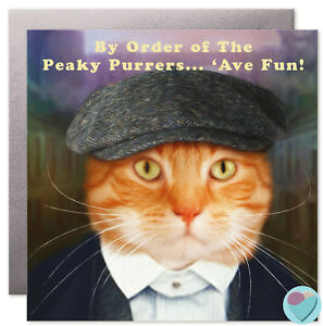Image Is Loading Ginger Cat Birthday Cards MUM DAD SISTER BROTHER