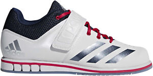 new york 14698 b4367 Details about adidas Powerlift 3.1 Weightlifting Shoes White Stars and  Stripes Limited Edition