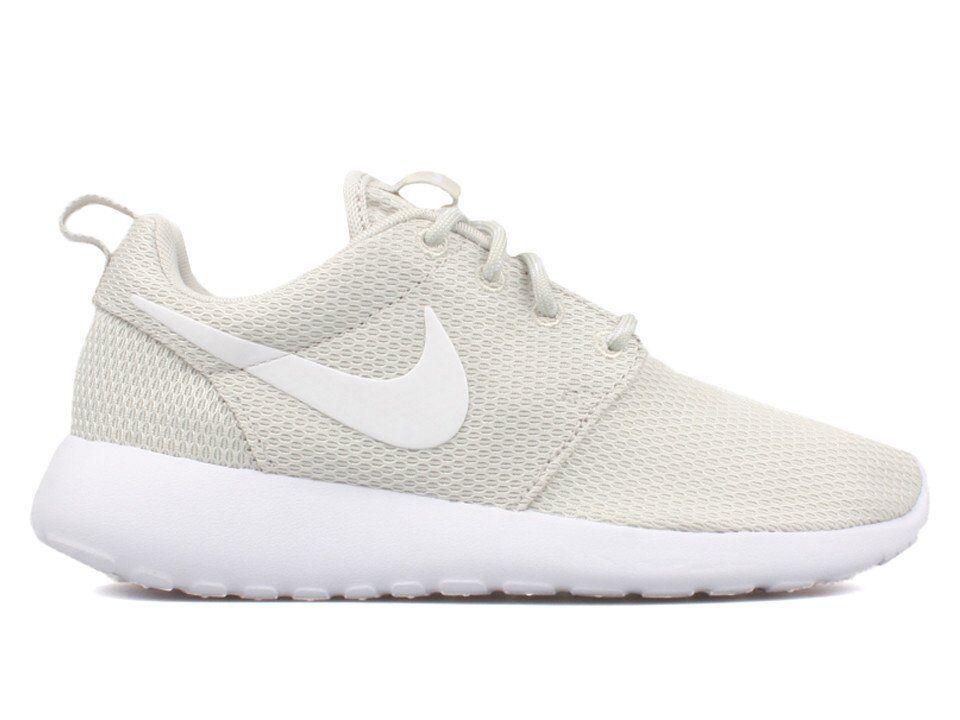 Nike Women's Roshe One Bone Shoes NEW AUTHENTIC Light Bone One 511882-095 8a6cac