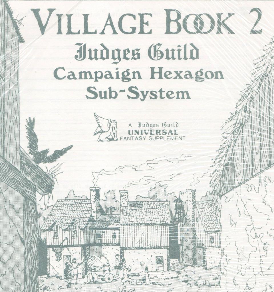 Los mejores precios y los estilos más frescos. Libro de aldea II, Sellada,  nuevo , judges Guild, Guild, Guild, D&D, 3000+ páginas de megaextras   directo de fábrica
