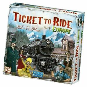 Days-of-Wonder-Ticket-to-Ride-Board-Game-Europe-edition-Melbourne-Stock