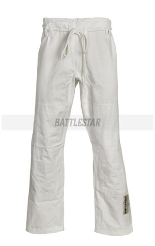 WHITE CUSTOM TAILORED FIT BRAZILIAN JIU-JITSU// BJJ TROUSER// PANTS BLACK BLUE