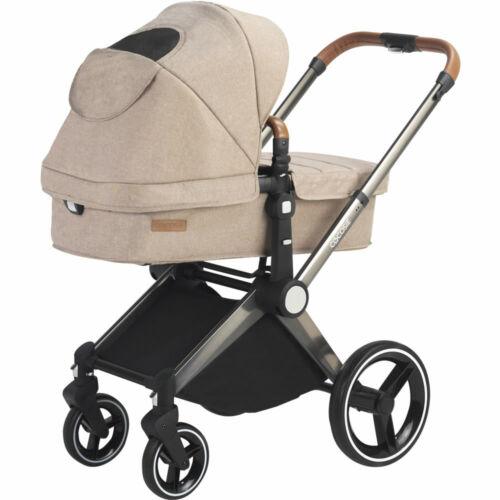 Kombi Kinderwagen Buggy 2in1 Wanne Sportsitz Kombikinderwagen Beige ab 149,90€