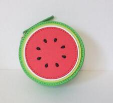 Kate Spade Watermelon coin purse zipper Make a Splash red green saffiano leather