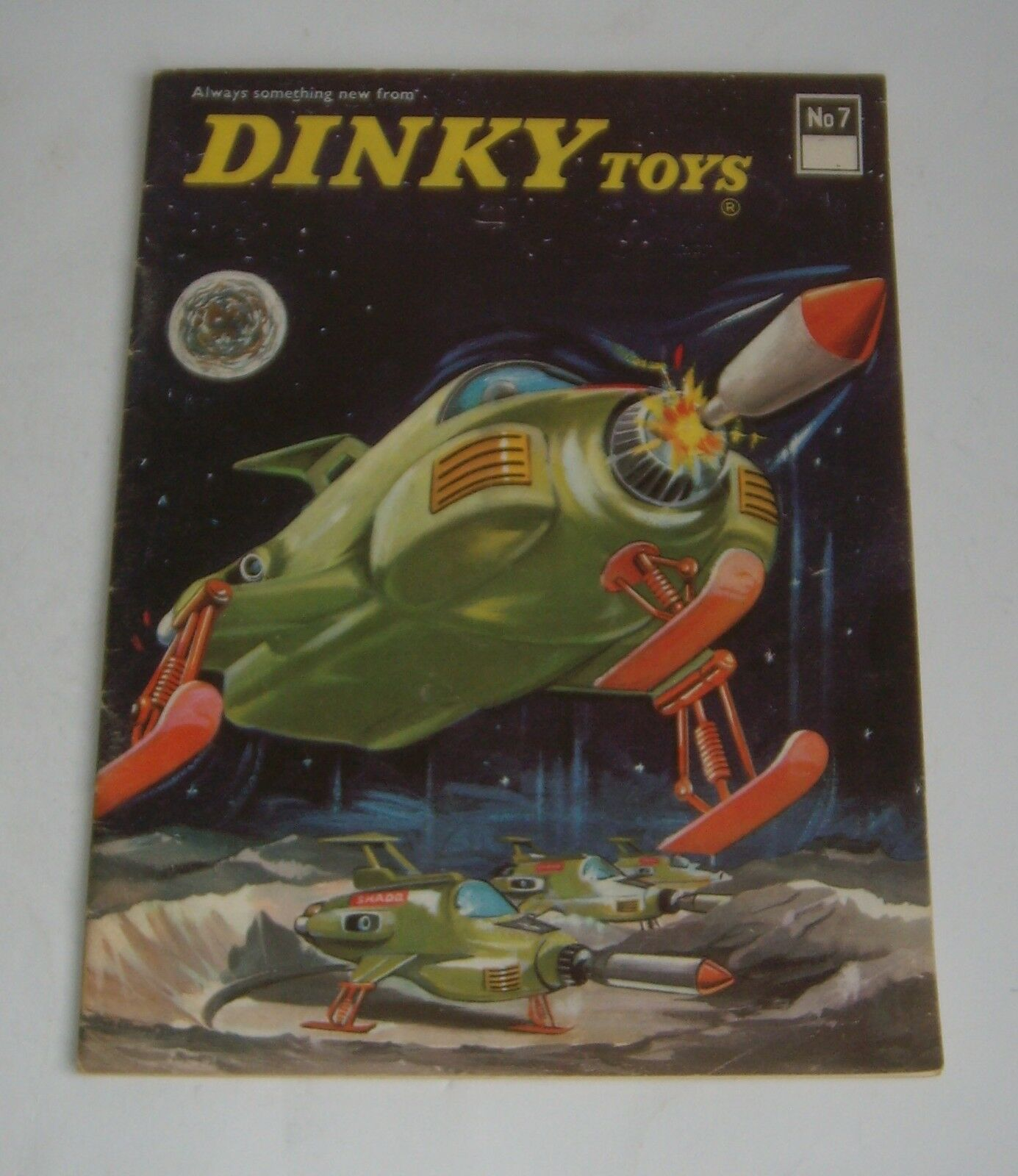 Dinky Toys Catálogo N ° 7, ningún ningún ningún precio, fechada en mayo de 1971, - Excelente. 636214