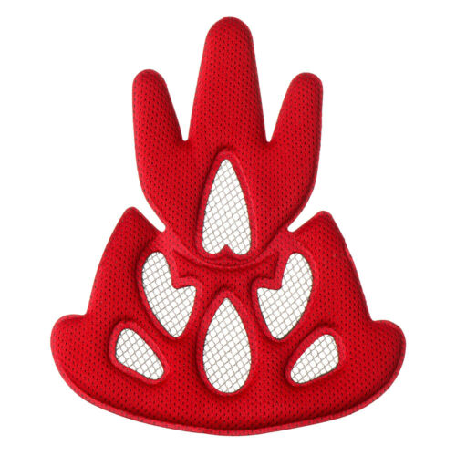 Helmet Padding Kit Sponge Pad Bike Motorcycle Replacement Pads with Insect Net~~