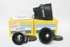 Screw-in SEA & SEA 16mm wide angle lens & 35-20-15mm finder for Nikonos. In Box.