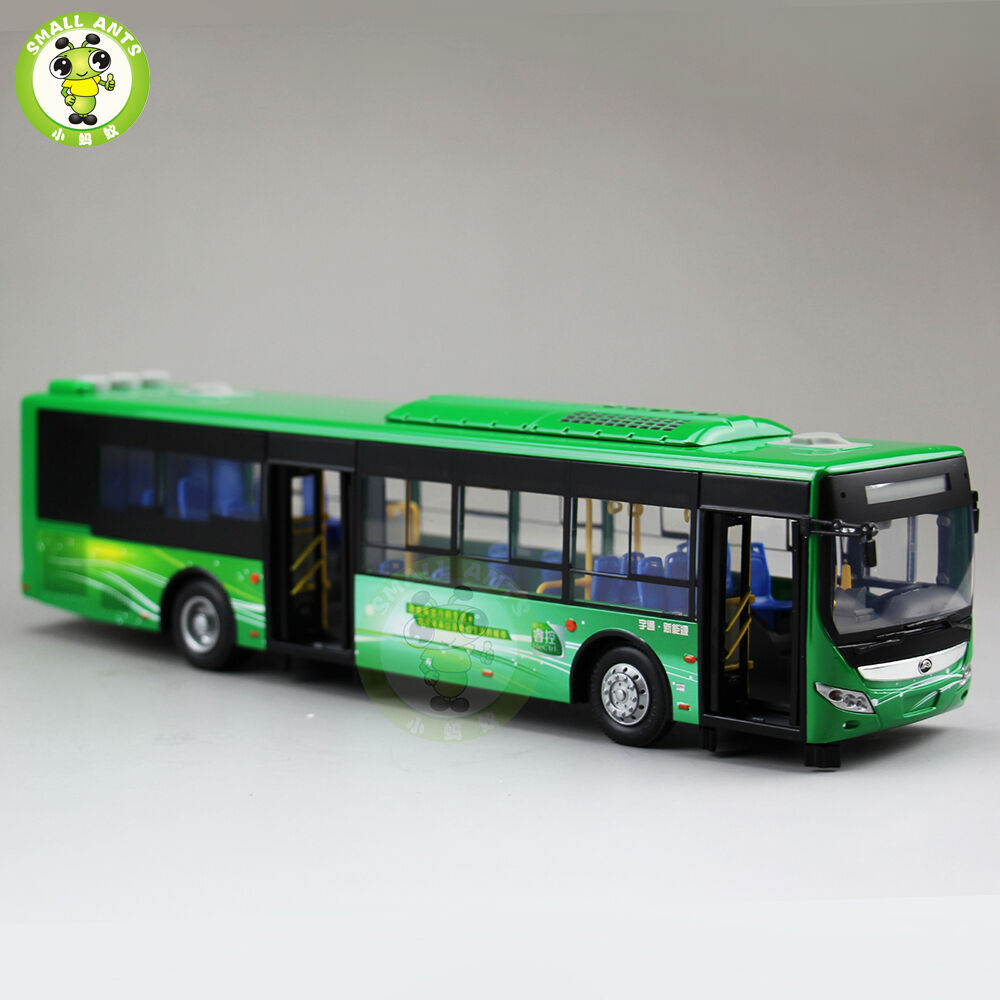 1 43 YuTong City Bus Model ZK6125CHEVPG4 Diecast Model Car Bus gift collection