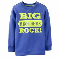 big Brothers Rock Baby Boys Brother Graphic Shirt 2t 3t 5t Gift Blue