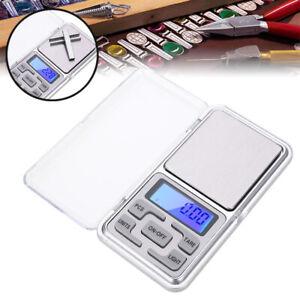Portable LCD Mini Digital Scale Jewelry Pocket Balance Weight Gram 0.01g-500g