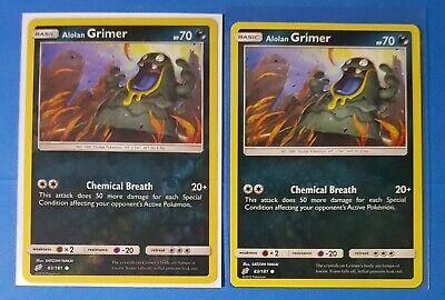 Alolan Geodude 35//181 SM Team Up REVERSE HOLO Pokemon Card NEAR MINT