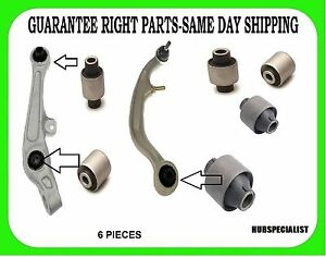 Front Lower Control Arm Bushing For Nissan 350z Fit 2003