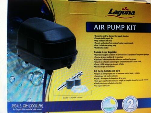 Laguna Air Pump Kit  Max koi pond Operating Depth for air stones 9'