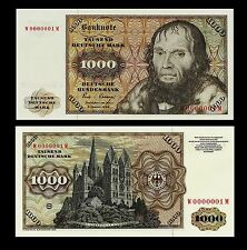 *** 1000 Deutsche Mark Geldschein 1980 Alte deutsche Währung ***