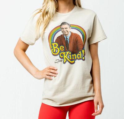 Mister Rogers Neighborhood Be Kind T Shirt Girls Natural Retro Ripple Junction Ebay