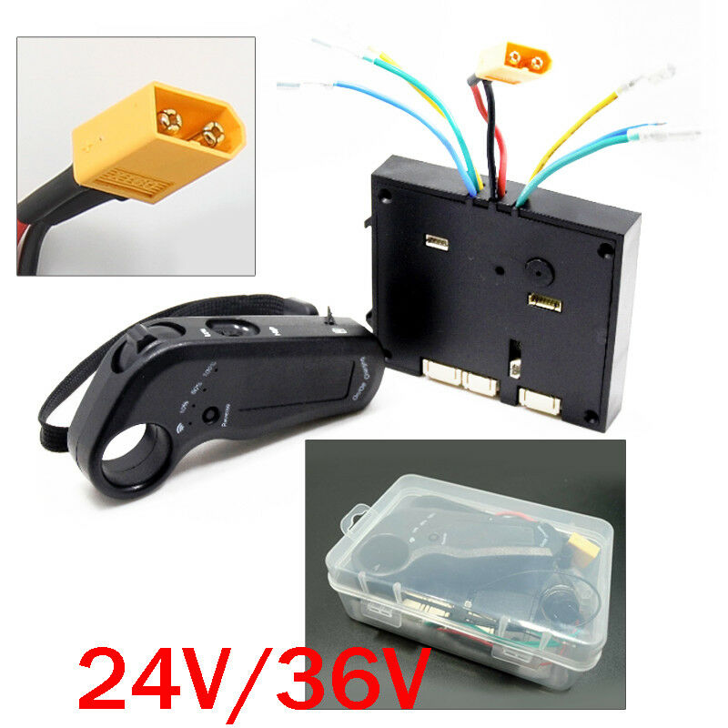24 36V Dual Motor Electric  S board Longbaord Controller W Remote Outdoor ESC  come to choose your own sports style