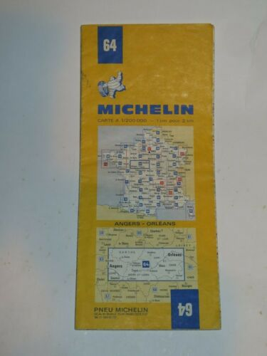 VINTAGE MICHELIN ROAD MAP France 1940s//50s//60s//70s//80s CHOOSE From Selection