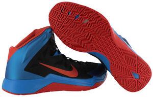 7f9426692451 Nike Zoom Hyperquickness 599519-006 Black Photo Blue Orange OKLAHOMA ...