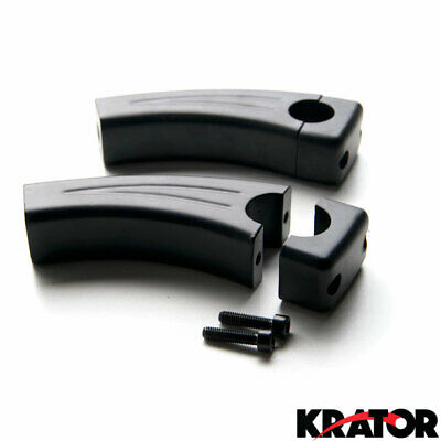 Krator 3.5 Black Motorcycle Handlebar Pullback Risers For Yamaha Road Star Warrior Midnight XV