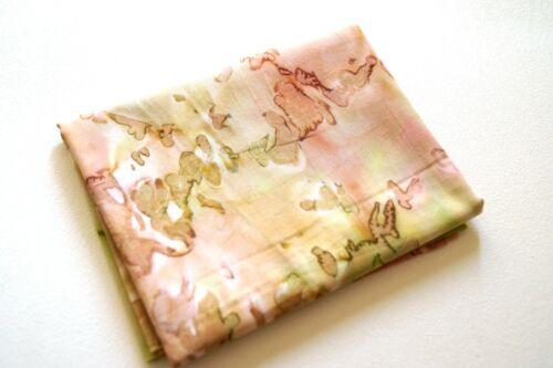 Artisan Batik Coral Reef by RK Ginger Cotton Batik Quilt Fabric in Pink /& Green