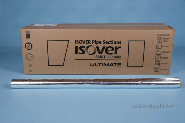 ISOVER Rohrisolierung Protect 30,0 m Kartonware 15//30 mm alukaschiert