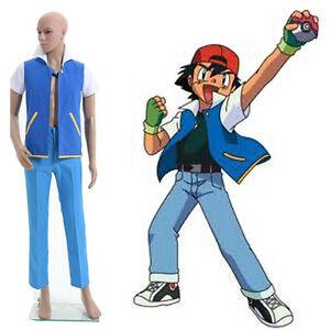 Uk pokemon go ash ketchum shirt jacket trainer cosplay costume image is loading uk pokemon go ash ketchum shirt jacket trainer solutioingenieria Images