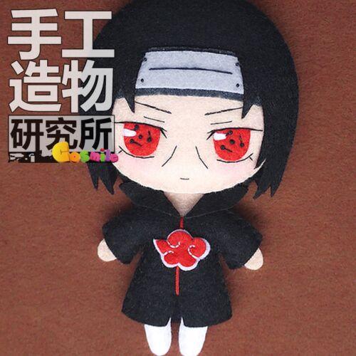 Japanese Naruto Shippuden Uchiha Itachi Cosplay Costume DIY toy Doll Material