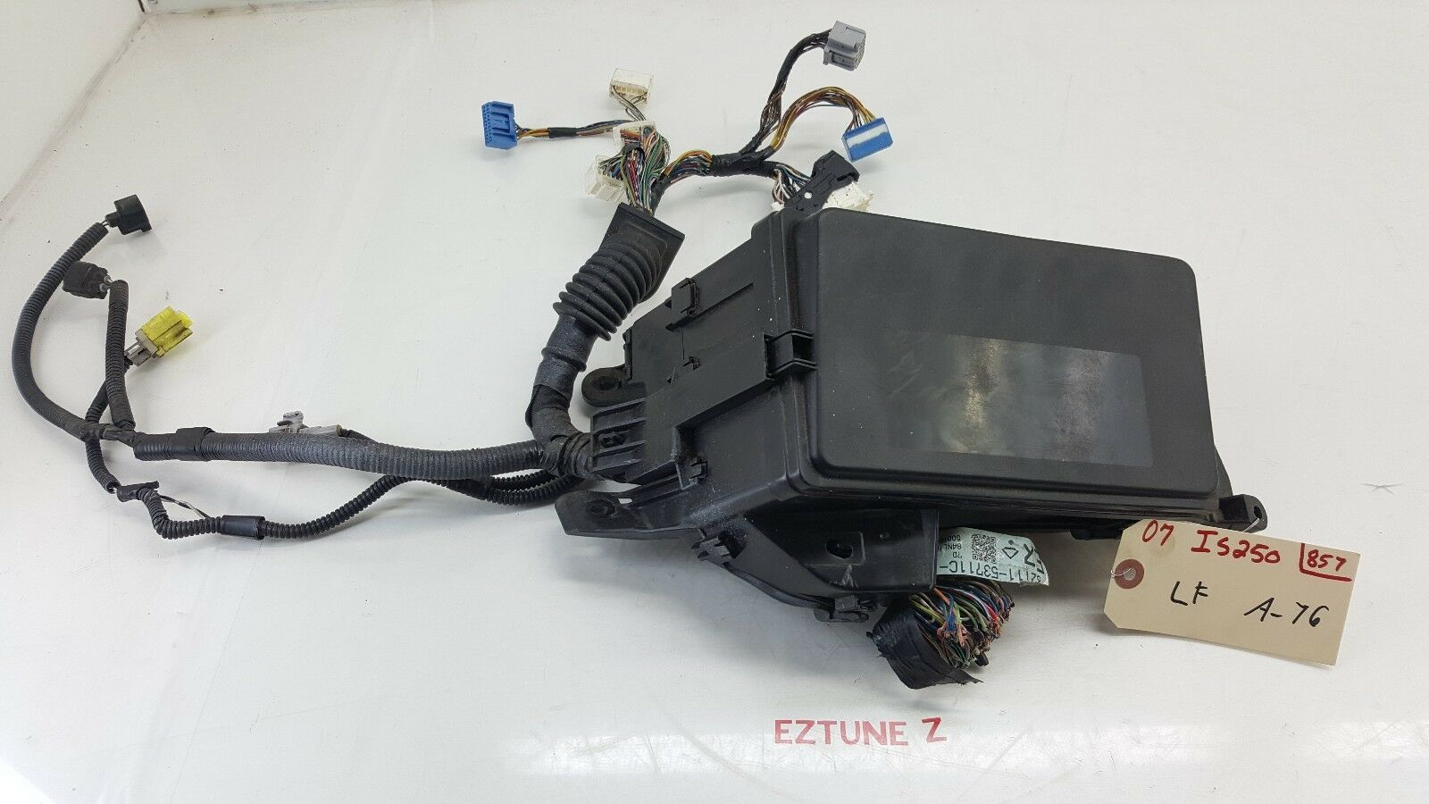 2007 Lexus Is250 Gps Floor Wire Harness Wiring Connector 82161 53820 Norton Secured Powered By Verisign