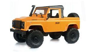 RC-Gelaendewagen-Pick-Up-Crawler-4WD-1-16-RTR-gelb-inkl-Akku-Ladegeraet-NEU