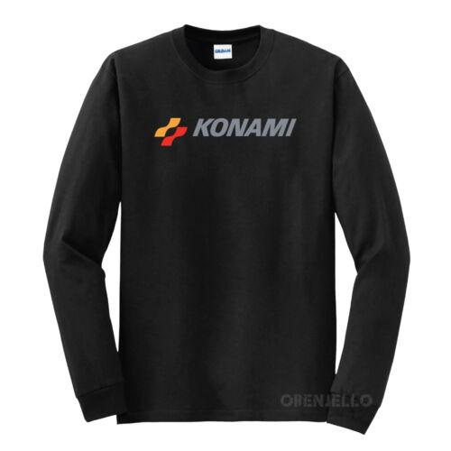 Konami Japanese Retro Video Game T-Shirt Long Sleeve S-5XL Choose Color