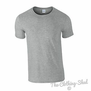 bf473957 Gildan Softstyle Mens T Shirt 64000 Plain Cheap Wholesale Blank ...