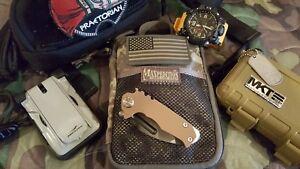 MEDFORD KNIFE & TOOL MICRO PRAETORIAN G / D2 /  PVD / TANTO / COYOTE / TI
