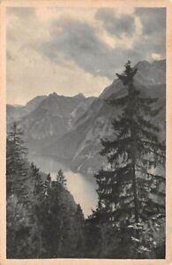 Blick von der Hochbahn auf den Königssee ngl 144.197