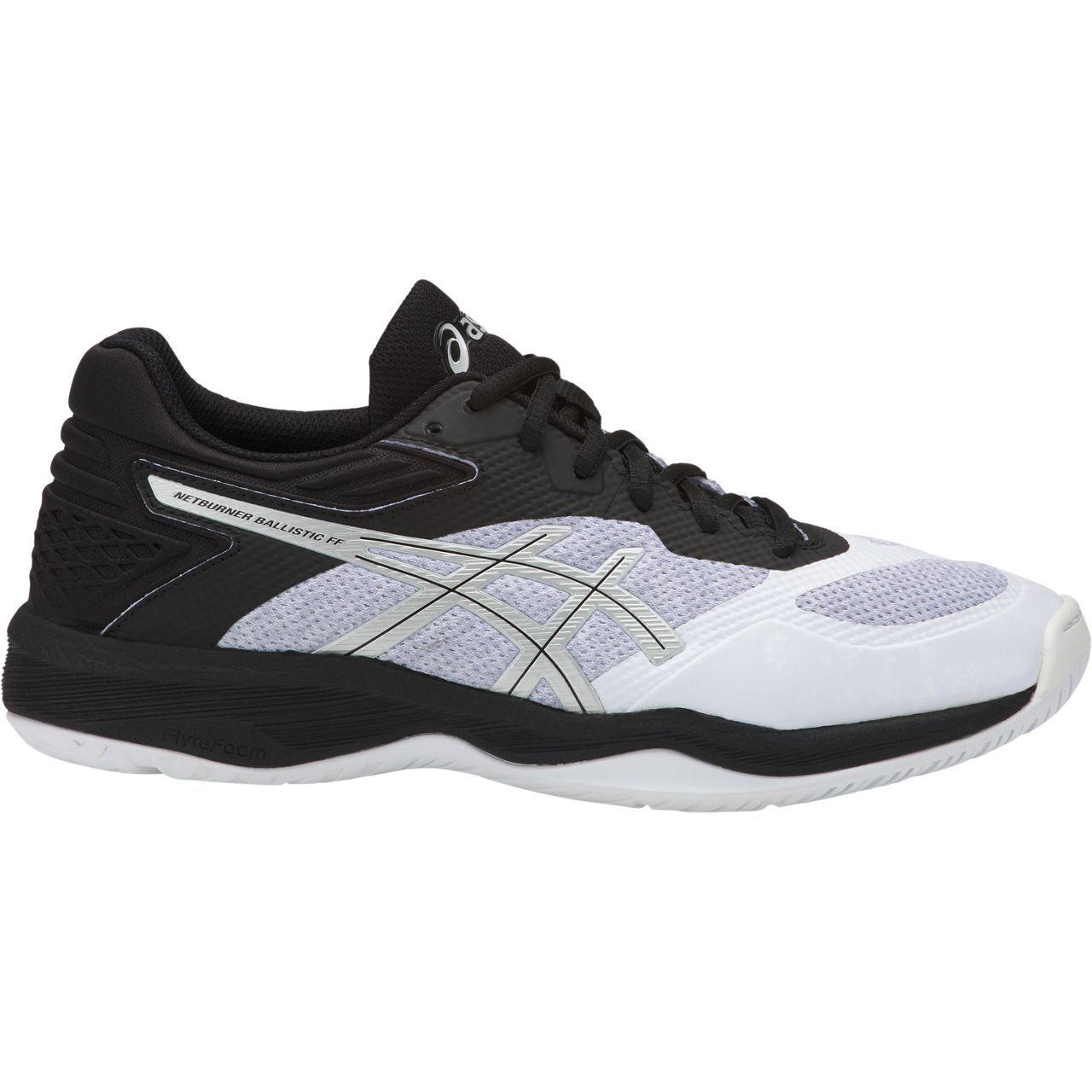 NEW RELEASE    Asics Gel Netburner Ballistic FF Womens Netball shoes (B) (100)