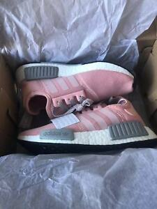 c879cb22f Adidas NMD Pink Grey BY3059 Women s Size 6 running tranning shoes