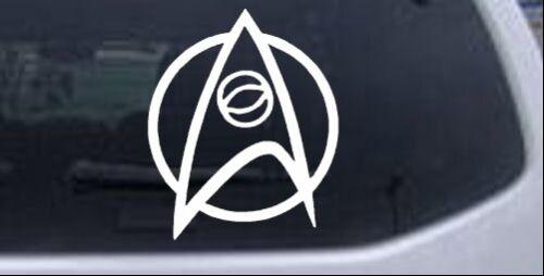 Star Trek Science Insignia Logo Car or Truck Window Laptop Decal Sticker 10X8.3