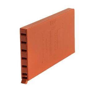 5 x Terracotta Brick Weep Vents / Ventilation Cavity Walls Retaining Garden Wall 700254115566