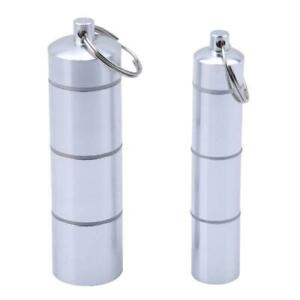 Waterproof-Aluminum-Pill-Box-Case-Bottle-Drug-Holder-Keychain-Container-O3