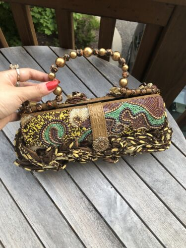 mary frances beaded handbag